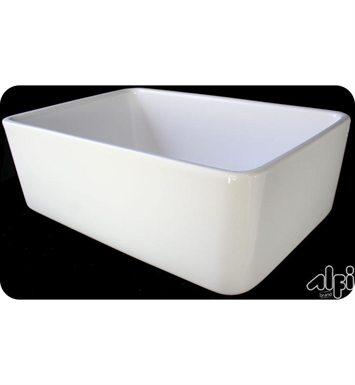 Alfi small smooth farmhouse sink at DecorPlanet.com