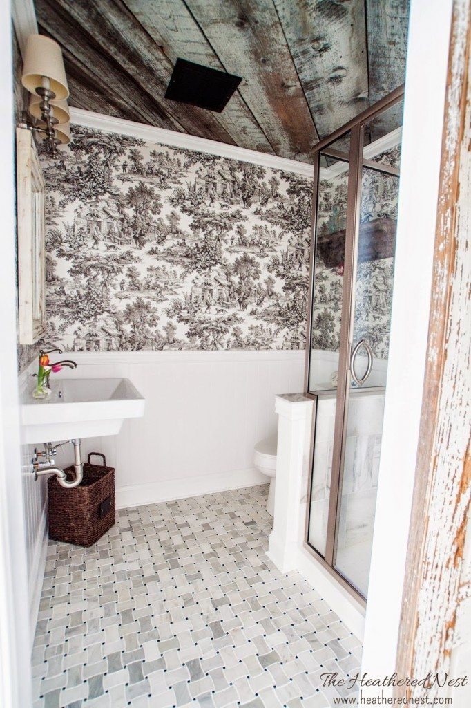 heathered-nest-toile-barnboard-basement-bath-reveal-3
