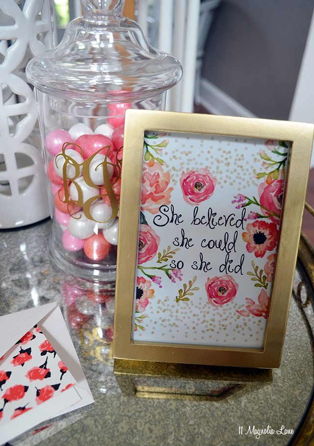 Easy gift idea--Administrative Professionals' Day | 11 Magnolia Lane