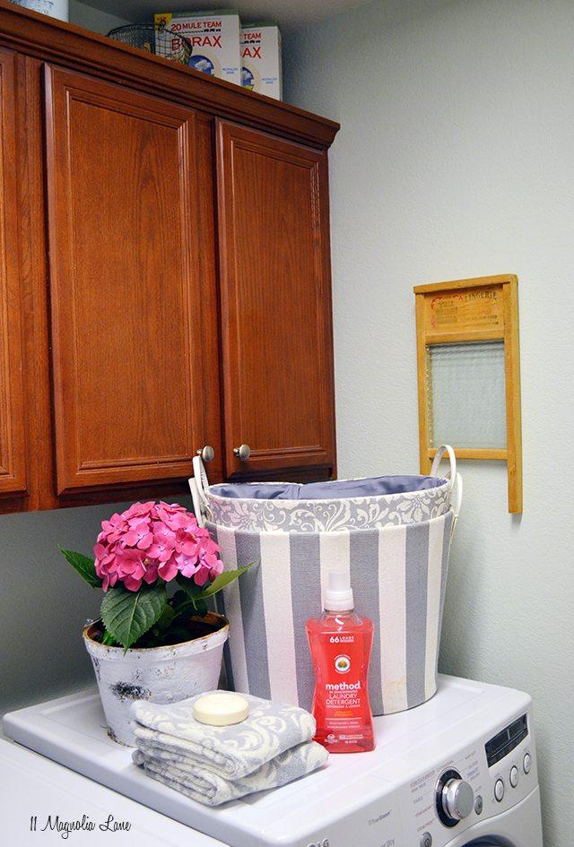 Laundry room with method laundry detergent | 11 Magnolia Lane