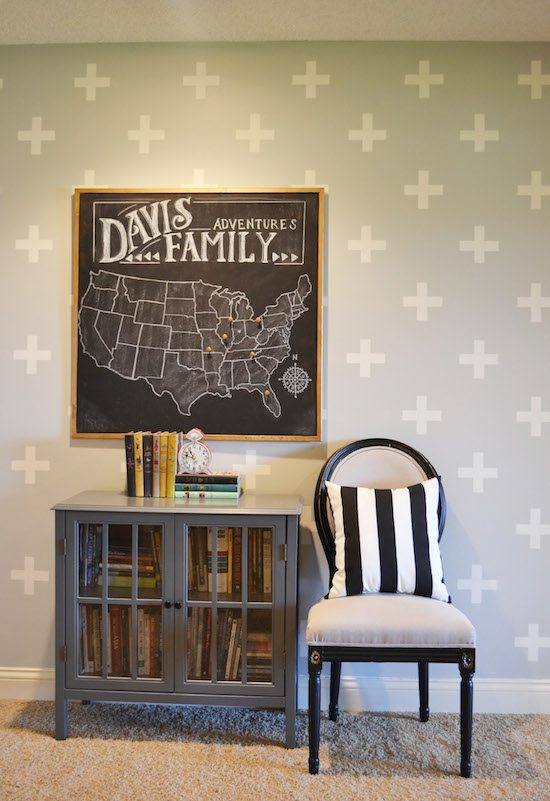Pretty Home Tour--lots of painted ideas from Sincerely Sara D