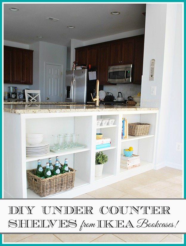 Homeright Bookcase Challenge Diy Bookcase To Kitchen Shelves 11 Magnolia Lane