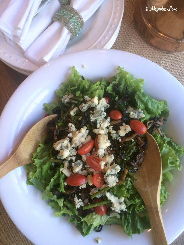 Steak salad   11 Magnolia Lane