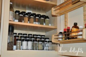 Operation: Organization with Dixie Delights, Organizing your Spices
