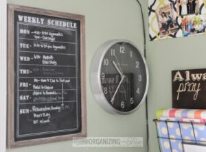 Operation: Organization--Family Command Center from Organizing Made Fun