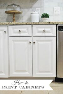How to Paint Your Kitchen Cabinets--Tips & Tricks for a Smooth Finish
