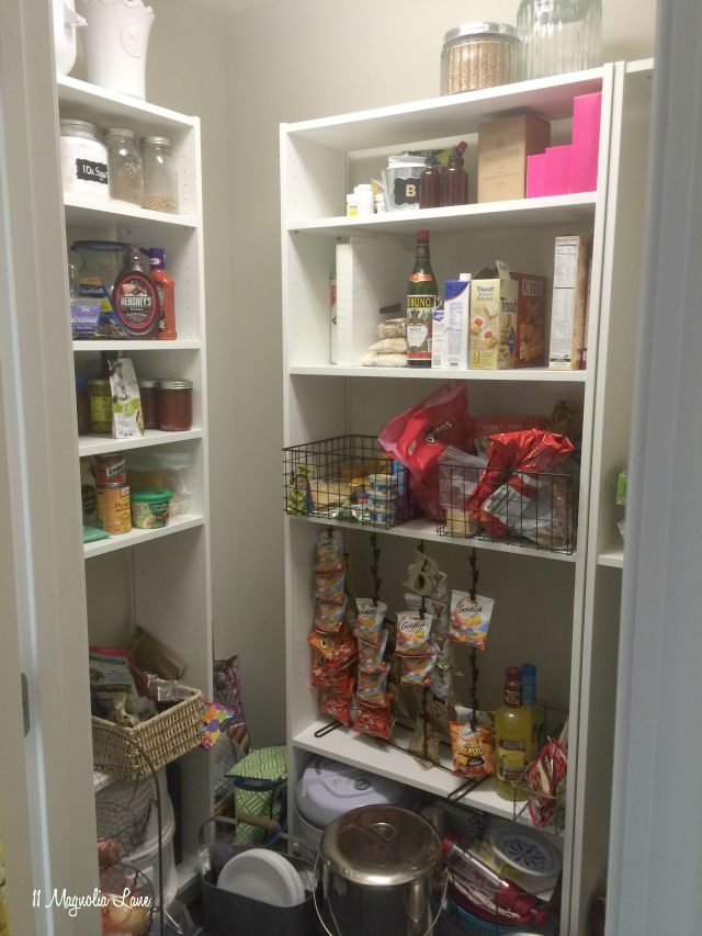Walk in pantry:  before | 11 Magnolia Lane