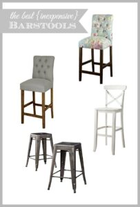Sources for inexpensive bar and counter stools