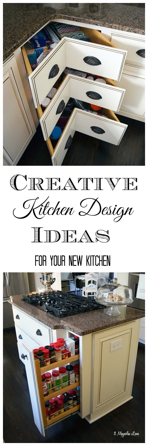 Creative kitchen ideas--storage and organization | 11 Magnolia Lane