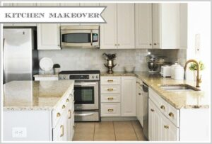 Kitchen Makeover--Reveal!