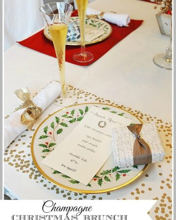 A Christmas Brunch with Korbel Champagne