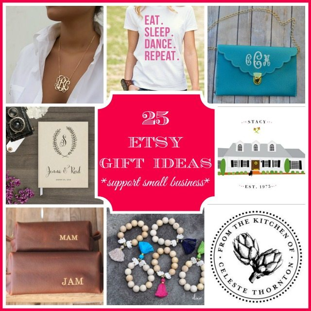 25 perfect gifts for everyone on your list from small business via ETSY