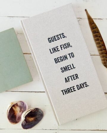 How To Be a Great Guest: 101