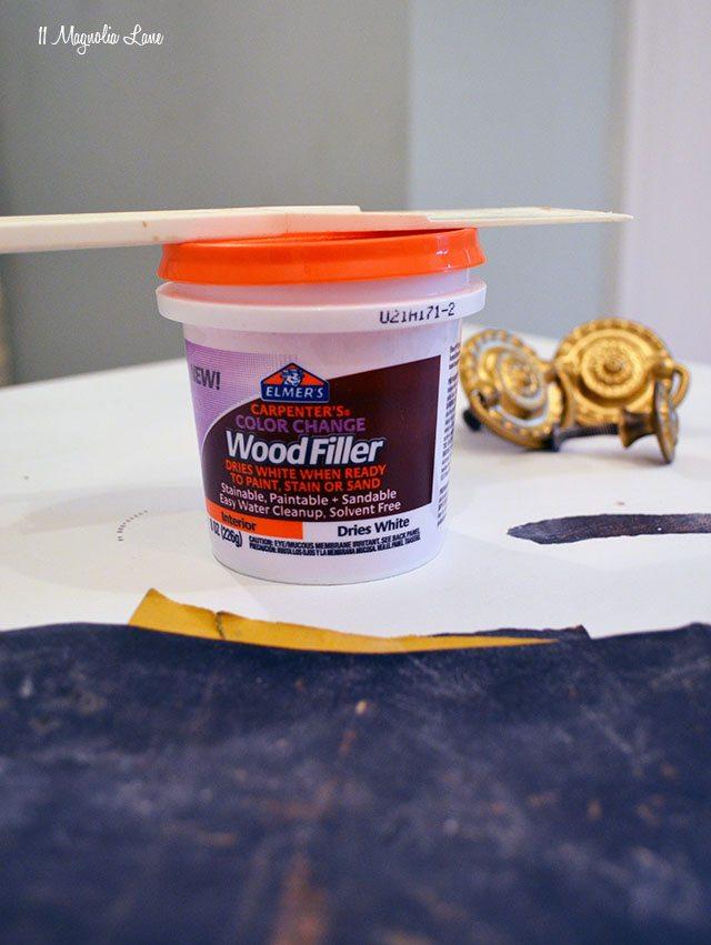 Elmer's Wood Filler | 11 Magnolia Lane