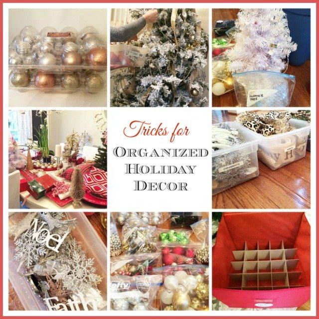Organizing Christmas Decor Header