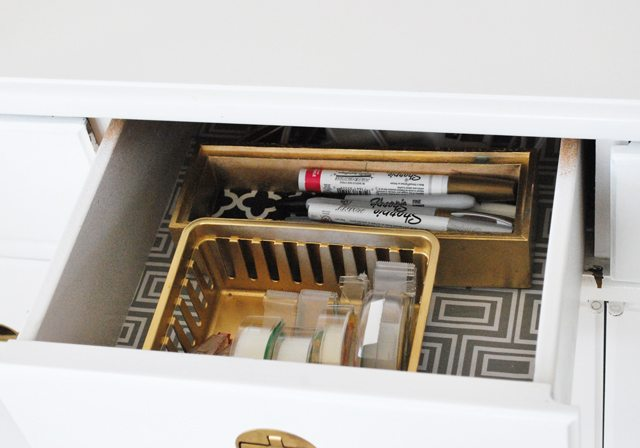 gold-drawers-desk-organization