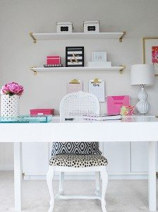 The 'Get Organized' Blog Hop--My Home Office
