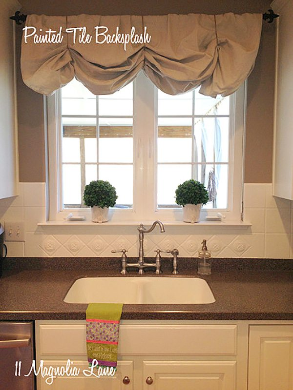 painted-tile-backsplash