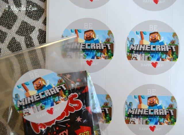 Minecraft Valentines Day Printables