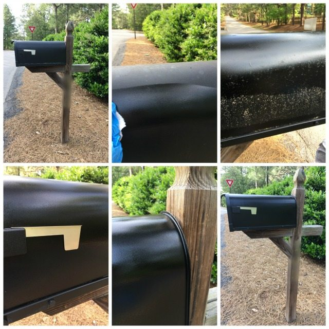 color restore collage mailbox