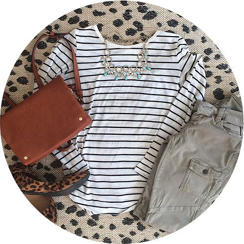 striped-shirt-olive-pants
