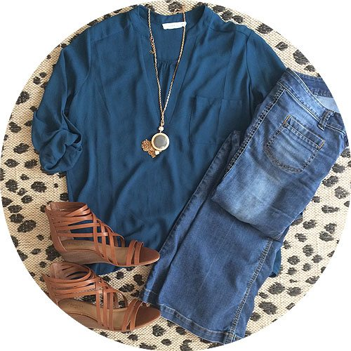 tunic and flares