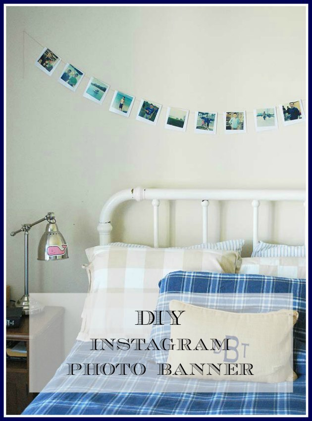 DIY Instagram Photo Banner {Graduation Gift}