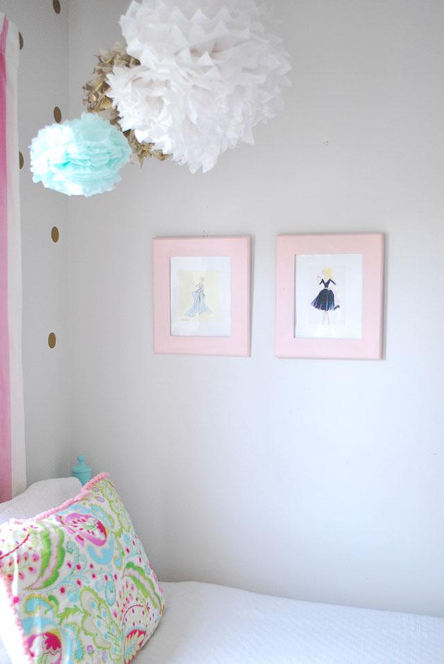 sloanes-room-vintage-twin-beds-tissue-poms-vintage-barbie-art