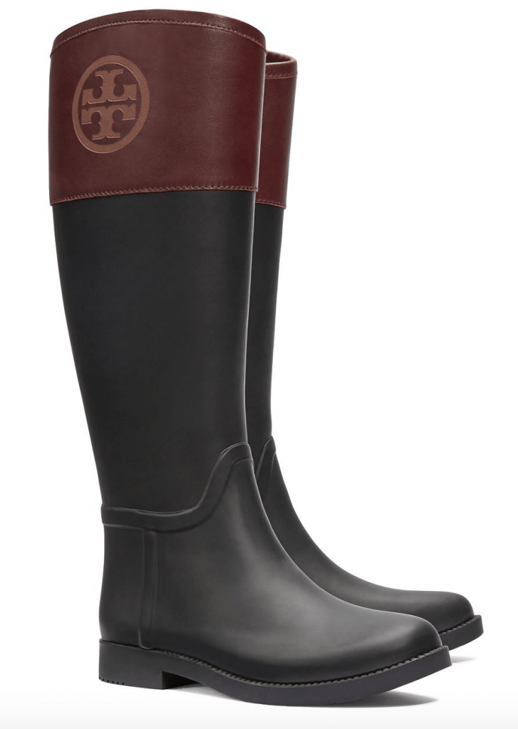 Tory Burch rainboots