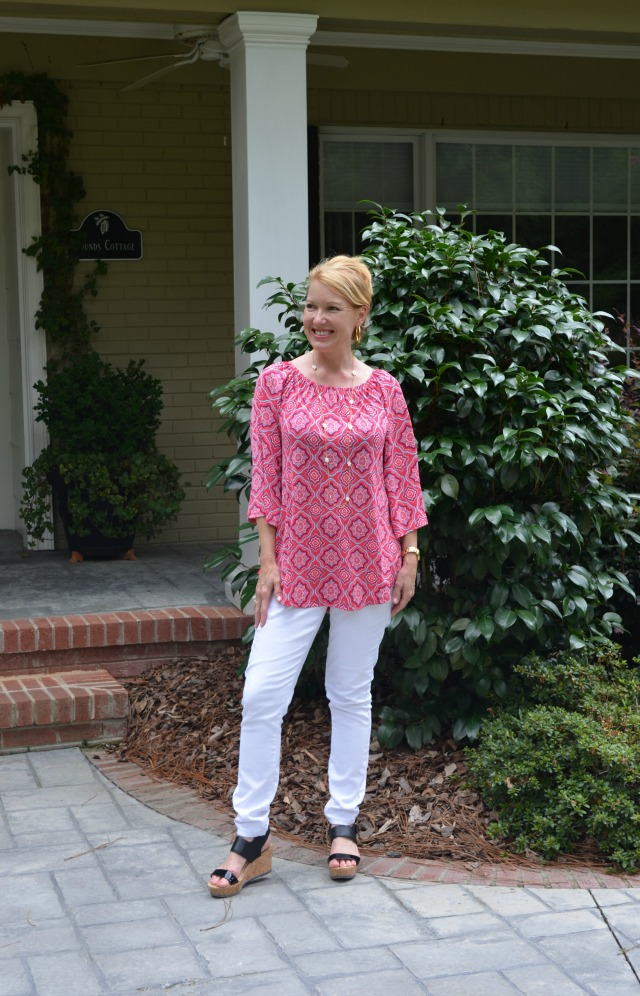 Glamour Farms Mika Top - Dark Fuchsia