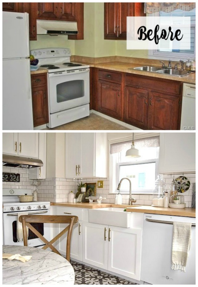 Nesting With Grace Kitchen Redo