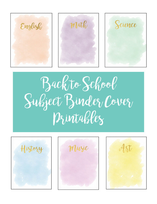 Subject Binder Cover Printables-1