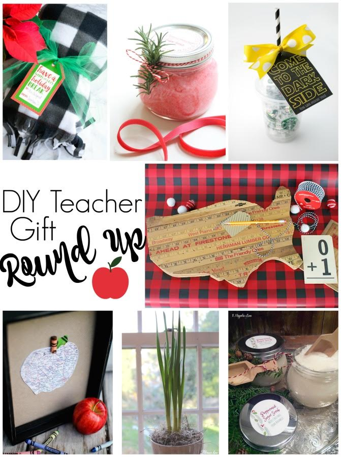 DIY teacher gift roundup