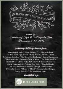 The 12 Days of Holiday Homes Tour--Day 1!