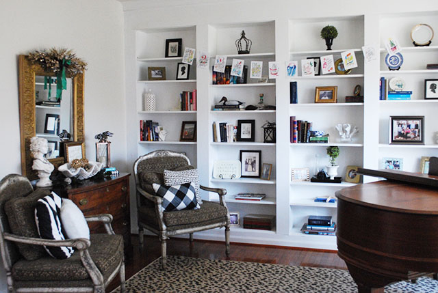 living-room-ikea-hack-bookcases-holiday-tour-amy