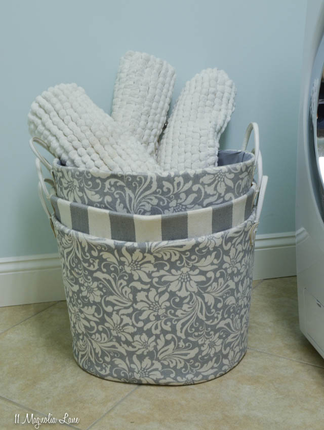 Ideas for making your laundry room organized, functional, and attractive | 11 Magnolia Lane