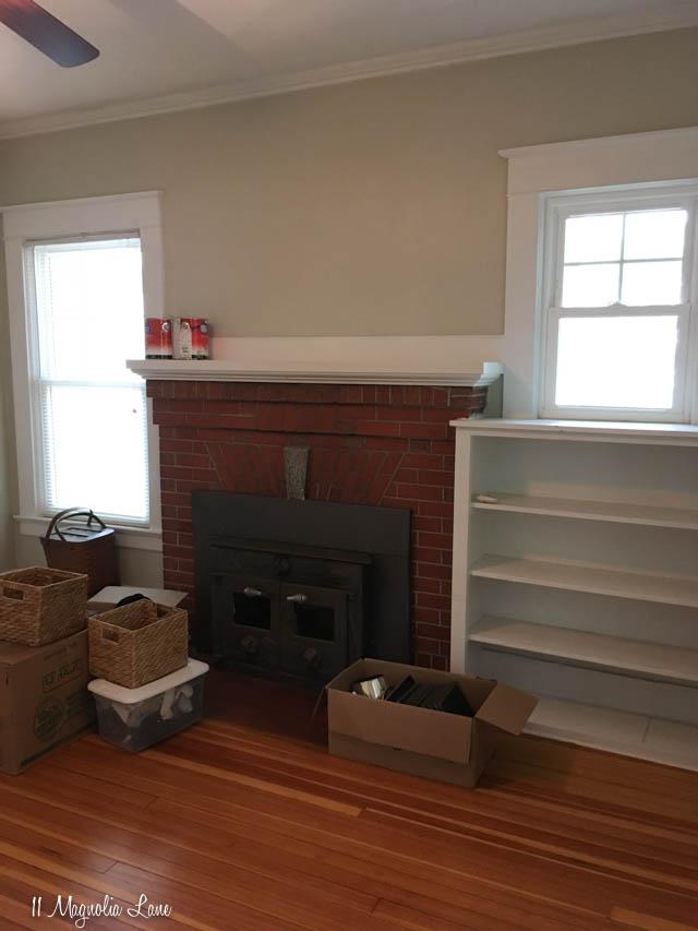 MCC house fireplace