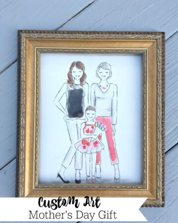 Custom Art for Mother's Day {My Best Gift Ever!}