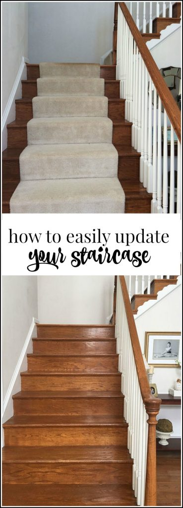 Have old carpet on your stairs? Removing it is easier then you think, see how to spiff up your steps in this easy tutorial.