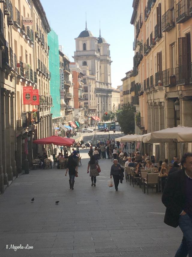 Spain trip Madrid streets