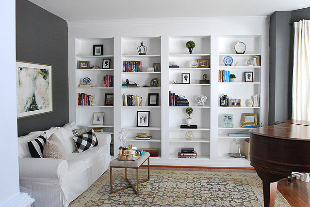 Our Dark + Moody Library Reveal