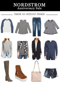 What I Bought at the Nordstrom Sale {Back to School Shopping}