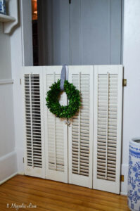 Dog Gate from Vintage Plantation Shutters