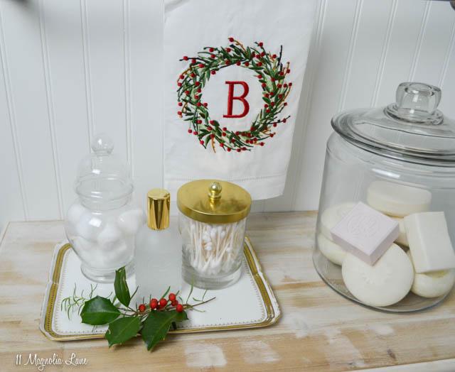 Christmas 2017 bathroom