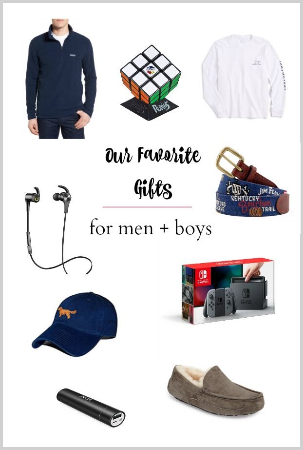 Our favorite gifts for men and teenage boys this holiday