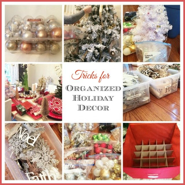 How to organize all that Christmas and holiday decor