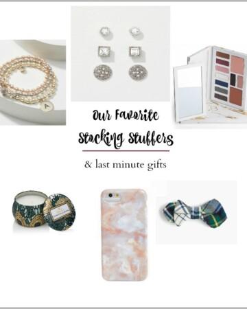 Stocking Stuffers + Last Minute Gift Ideas