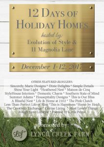 The 12 Days of Holiday Homes Tour--Day 1