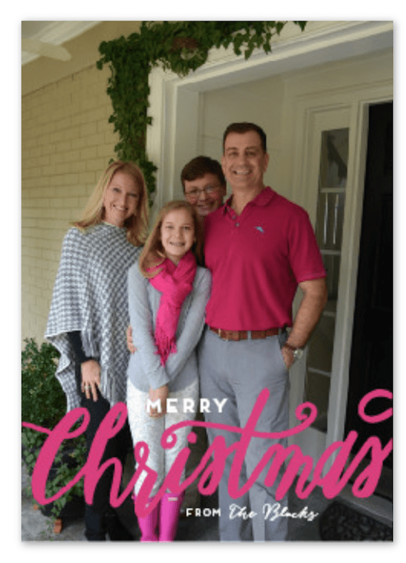 Minted Christmas Card 2015