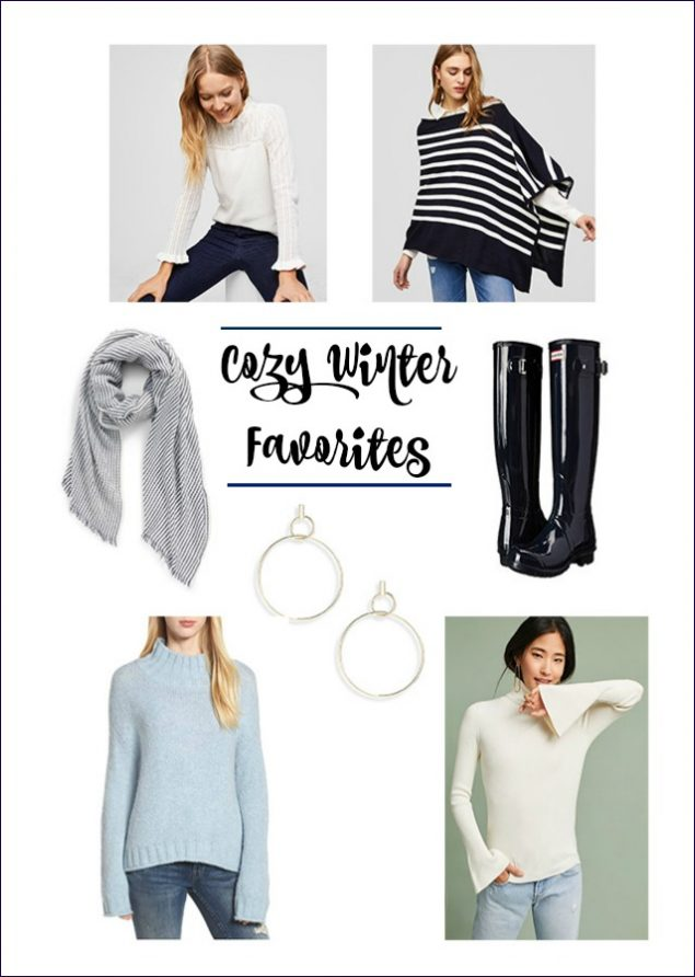 Fun, cozy winter fashion and sale finds